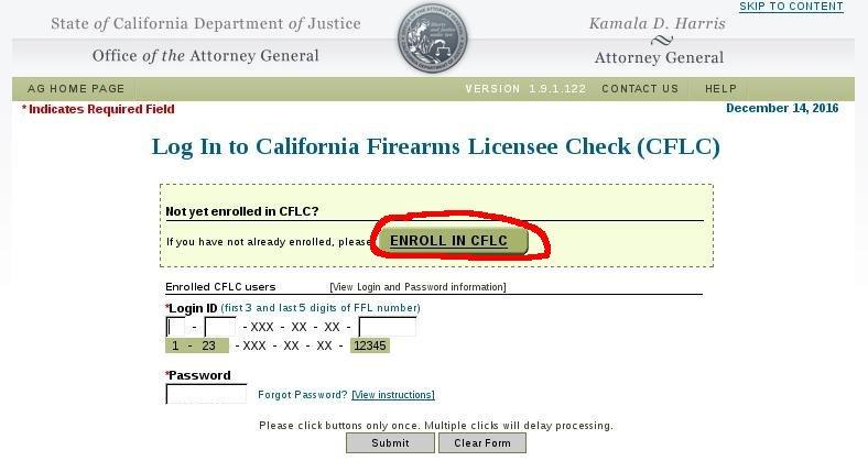 California Firearms Safety Certificate Login - Best Design ...